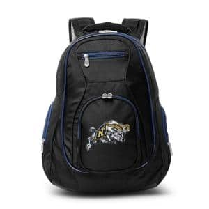 NCAA Navy Midshipmen 19 in. Black Trim Color Laptop Backpack