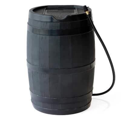 45 Gal. RC45 Rain Barrel, Black