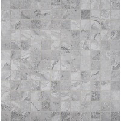 Napa Gray 12 in. x 12 in. x 8mm Matte Ceramic Mesh-Mounted Mosaic Tile (11 sq. ft./Case)