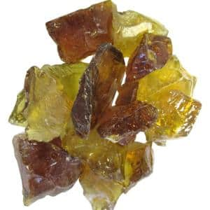 0.75 in. Chestnut Recycled Fire Glass