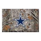 NFL - Dallas Cowboys 19 in. x 30 in. Outdoor Camo Scraper Mat Door Mat