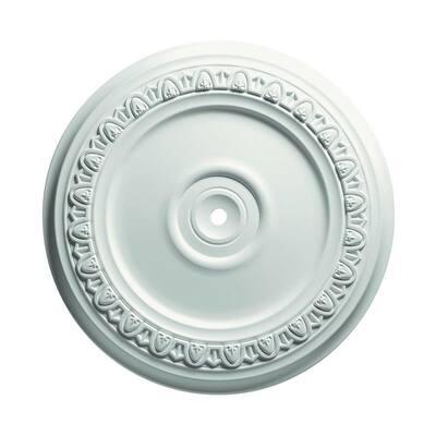 24 in. Egg and Dart Ceiling Medallion
