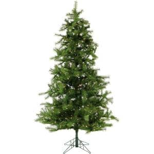 7 ft. Pre-lit Southern Peace Pine Artficial Christmas Tree with 600 Smart String Lights