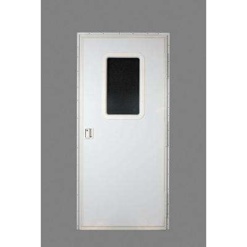 RV Square Entrance Door - Polar White