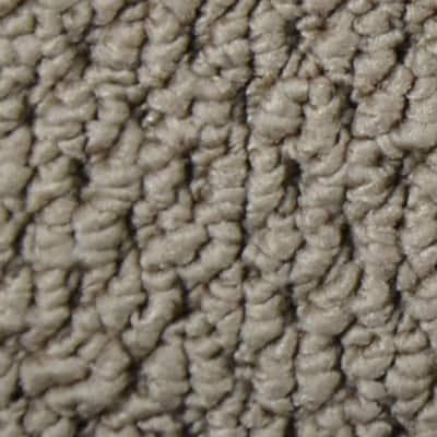 8 in. x 8 in. Berber Carpet Sample - Bayfield -Color Brokenshire