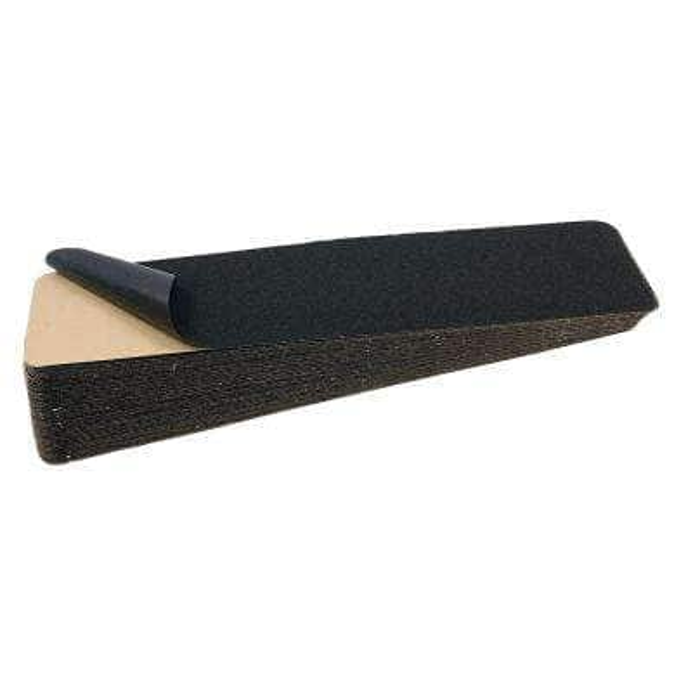 6 in. x 8 yds. Black Anti-Skid Self Adhesive Tape (50 Sheets Per Box)