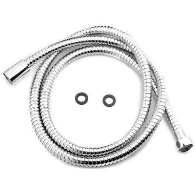 60 in. Metal Shower Hose in Polished Chrome