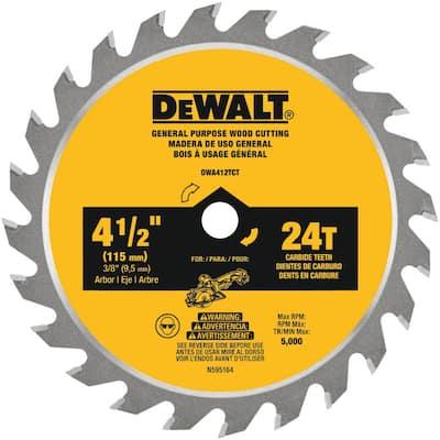 ATOMIC 4-1/2 in. 24-Tooth Circular Saw Blade