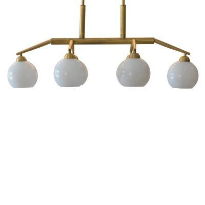 Michael 6-Light Antique Brass Chandelier