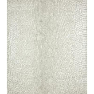Sovana Ivory Python Vinyl Peelable Wallpaper (Covers 57.8 sq. ft.)