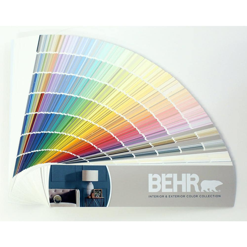BEHR 200 in. x 200 in. x 200 in. 20 Color Fan Deck 5000863200   The Home Depot
