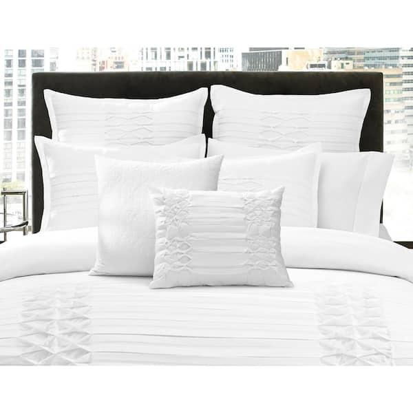 City Scene Triple Diamond 2 Piece White, City Bedding Sets