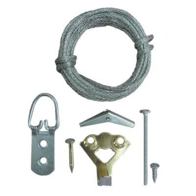 14-Piece Heavy Object Picture Hanging Kit