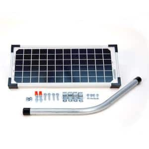 10-Watt Solar Panel Kit for Electric Gate Opener
