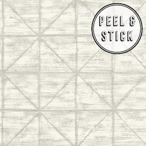 Tile Grey Vinyl Peelable Roll (Covers 30.75 sq. ft.)