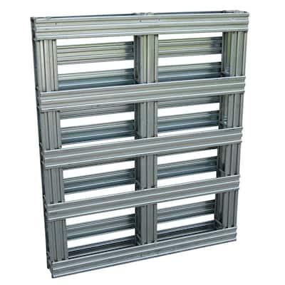 40 in. x 48 in. Galvanized Steel Pallet