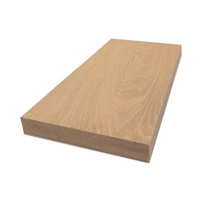 2 in. x 12 in. x 8 ft. Red Oak S4S Board