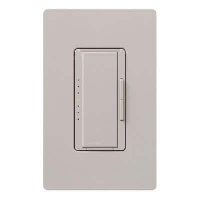 Maestro Dimmer for Incandescent and Halogen, 1000-Watt, Single-Pole/3-Way/Multi-Location, Taupe