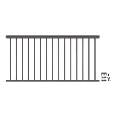 VersaRail Classic 6 ft. x 36 in. Matte Bronze Aluminum Rail Level Kit