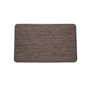 Nautica Alder Natural Black 18 In X 30 In Anti Fatigue Kitchen Mat Nak011833 The Home Depot