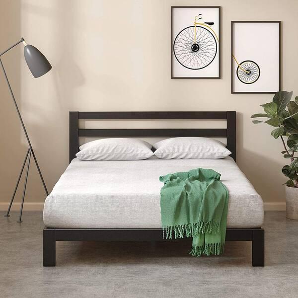 Zinus Arnav Modern Studio 10 Inch Platform 2000h Metal Bed Frame Twin Hd Asmph 20t The Home Depot