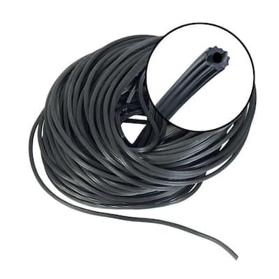 0.210 in. x 100 ft. Black Spline