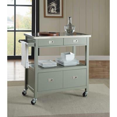 Cindy Gray Kitchen Cart