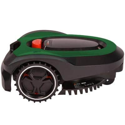 7 in. 2.0 Ah Lithium-Ion Easy, Safe, Fully Autonomous Robotic Lawn Mower with Install Kit, by Redback