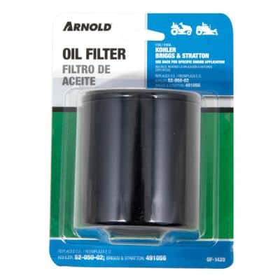 Replacement Oil Filter for KOHLER and Briggs & Stratton Engines