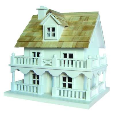 Novelty Cottage Birdhouse With Bracket