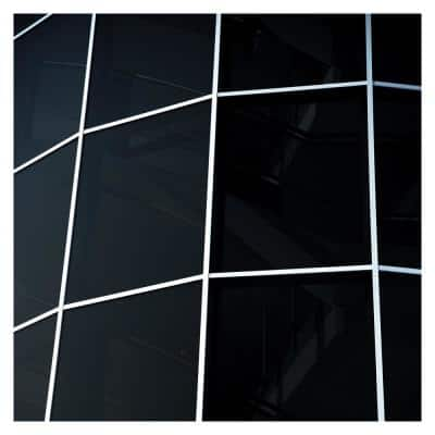 48 in. x 100 ft. NA05 Daytime Privacy and Sun Control Black (Very Dark) Window Film
