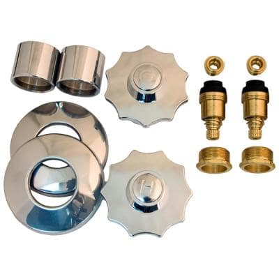 Tub and Shower Rebuild Kit for American Standard Aquaseal 2-Handle Faucets