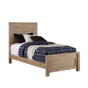 Wheaton Natural Twin Complete Panel Bed
