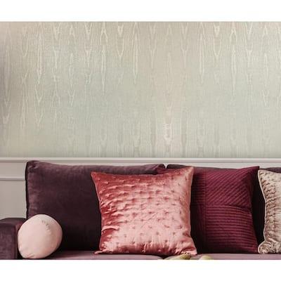Moire Champagne Wallpaper Sample