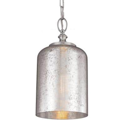 Hounslow 1-Light Polished Nickel Mini Pendant