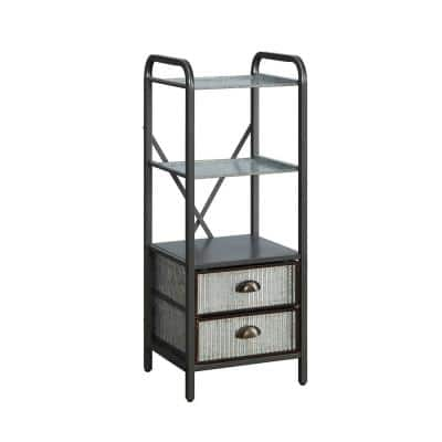 Montclair 15 in. W x 13 in. D x 39 in. H Space Saver Base Cabinet Metal