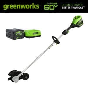 PRO 8 in. 60-Volt Battery Cordless Edger Kits with 2.0 Ah Battery and Charger