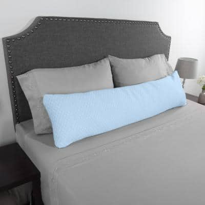 Hypoallergenic Memory Foam Body Pillow with Removable Cover