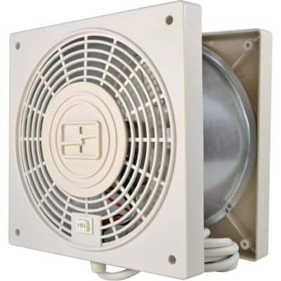 Through the Wall 2-Speed with Airflow Adapter Room to Room Fan