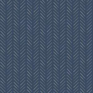 Pick-Up Sticks Blue Peel & Stick Repositionable Wallpaper Roll (Covers 34 Sq. Ft.)