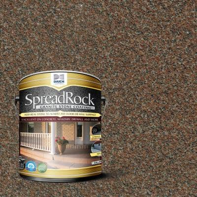 Granite Stone Coating 1 Gal. Mocha Satin Interior/Exterior Concrete Resurfacer and Sealer