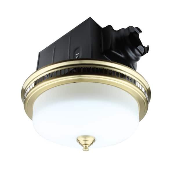 110 Cfm Ceiling Bathroom Exhaust Fan, Decorative Bathroom Exhaust Fans With Light