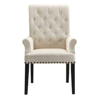 Arm Chair Dining Chairs, Upholstered Dining Room Chairs With Arms