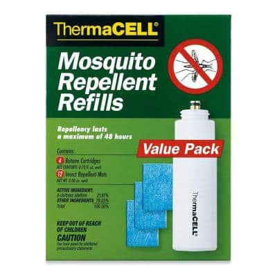 Mosquito Repellent Refills (4-Pack) 48 Hours Coverage and Deet Free