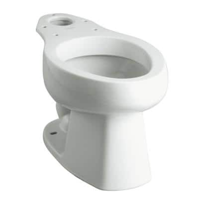 Windham Elongated Toilet Bowl Only in White