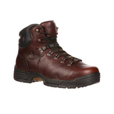Men's MobiLite Waterproof Work Boots - Steel Toe - Brown - Size - 10.5(W)
