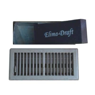 10 in. x 4 in. x 2 in. Floor Ducts Residential and Commercial HVAC Insulated Floor Insert