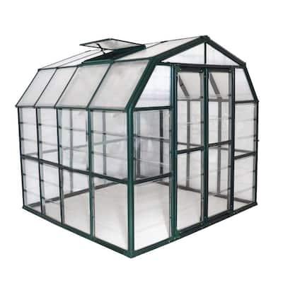Grand Gardener Clear 8 ft. x 8 ft. Greenhouse