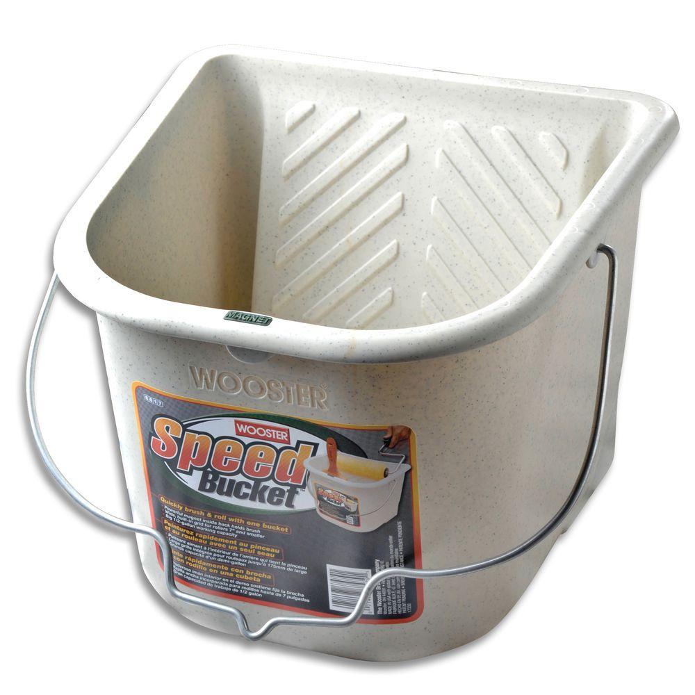 1/2 gal. Polypropylene Speed Bucket