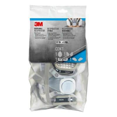 Disposable Paint Project Respirator OV/P95 Large